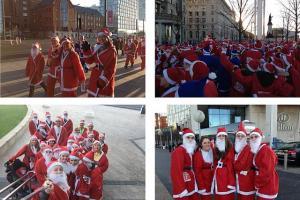 St Julie's Smash the Santa Dash!