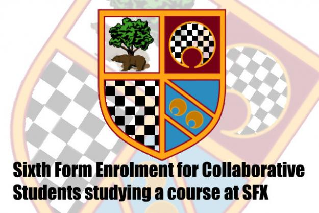 Enrolment for Sixth Form Courses at SFX