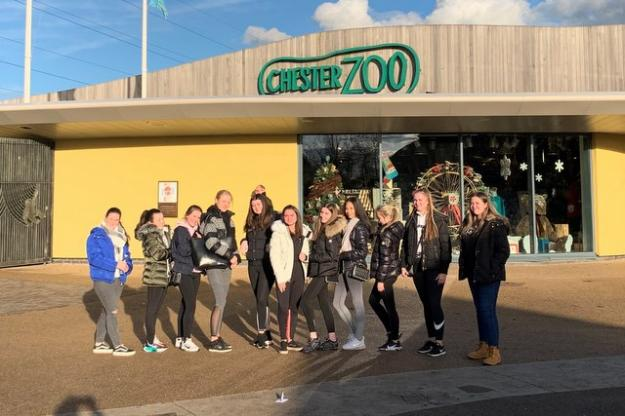 Tourism Applied Diploma Sixth Formers visit Chester Zoo!