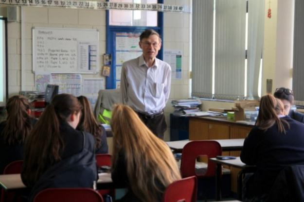 Professor Visits for Maths Workshop