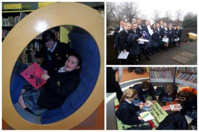 St Julie's Reads At Allerton Library