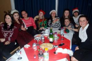 Year 12 Students Sing for Halewood Community Centre