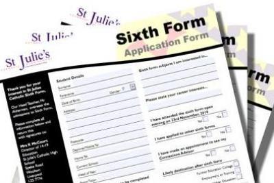 Sixth Form Application Deadline!