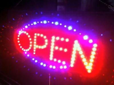 Tonight We Are Open!