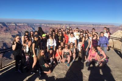 Students Visit West Coast of USA