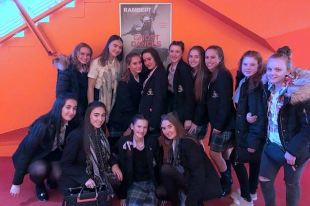 Performing Arts Students Visit Lowry