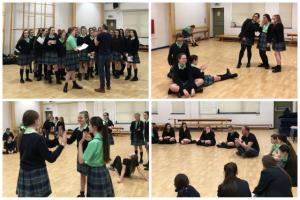 Actor Michael Southern Leads Year 9