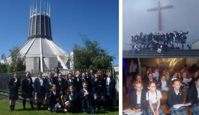 St. Julie's Becomes Part of Thousand Voice Choir