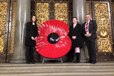 Students Join City Remembrance