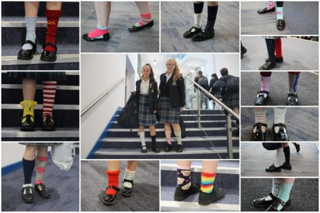 Odd Socks for Antibullying Week
