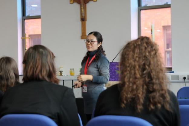 St. Julie's Welcomes Teachers from China