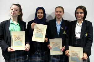 Success for St. Julie's in Writing Competition