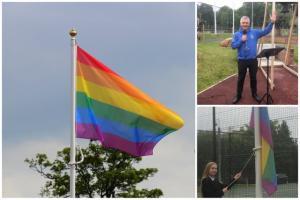Flying The Flag Against Homophobia