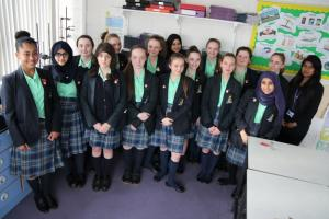 St. Julie's Stands Up To Stamp Out Bullying