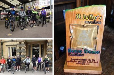Staff Get On Their Bikes!
