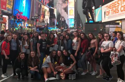 Performing Arts Students Hit NYC!