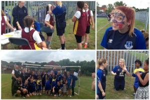 St. Julie's Students Stage Mini World Cup!