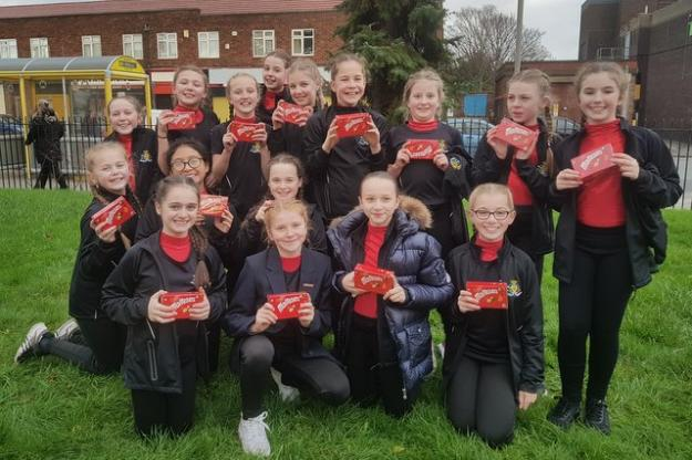 Dancers Bring Sparkle To Hunts Cross