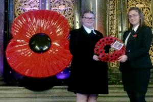 Wreath Laying on Remembrance Sunday