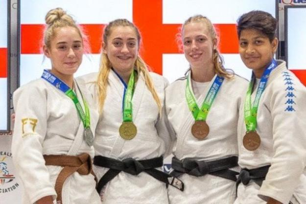 Ellie Medals at Commonwealth Judo Championship