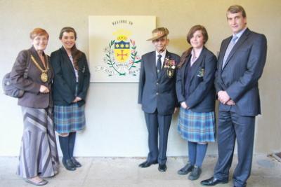 Lord Mayor Visits St. Julie's