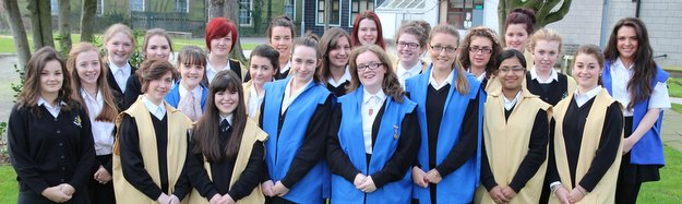 St. Julie's Sixth Form Council 2011-12