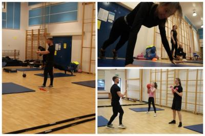 BTEC PE Students Flex Their Muscles!