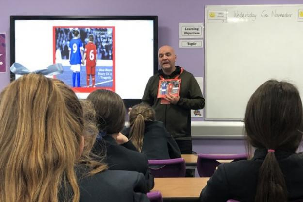 Year 8 Students Meet Local Author