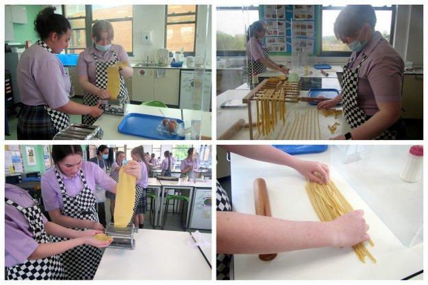 Year 10 Aim To Pasta Test!