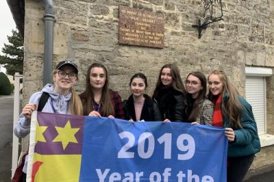 In the footsteps of St. Julie and Francoise