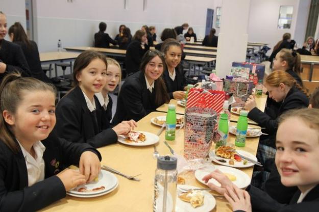 Merit Winners Tuck Into Breakfast Banquet!