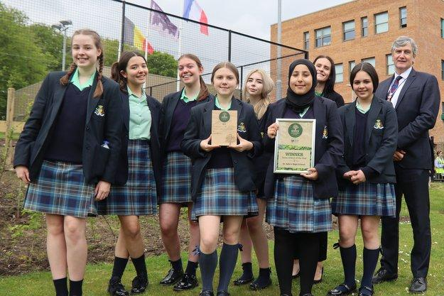 St Julie's: Liverpool Echo Green School of the Year