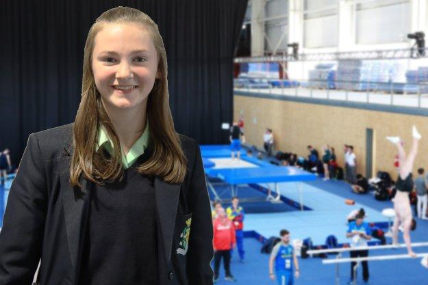 Trampolinist Shines At National Competition