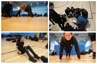 Fitness Challenges for Year 7