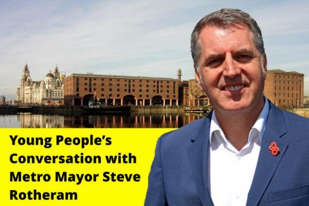 Metro Mayor Steve Rotheram in Conversation