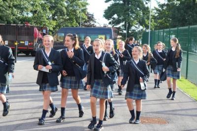 St. Julie's Students Keep Attending