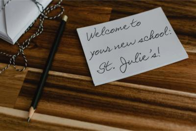 Welcome to our newest students!