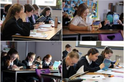 St Julie's takes part in the Liverpool Readathon