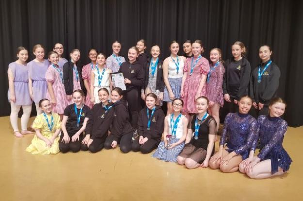 Winning Awards at the LSSP Dance Competition!