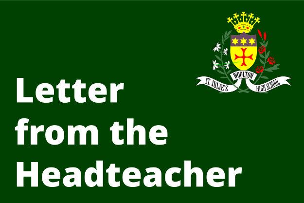 Covid Update Letter from the Headteacher