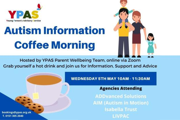YPAS Autism Information Coffee Morning
