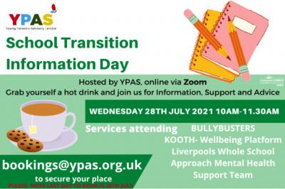 YPAS Transition Information Day