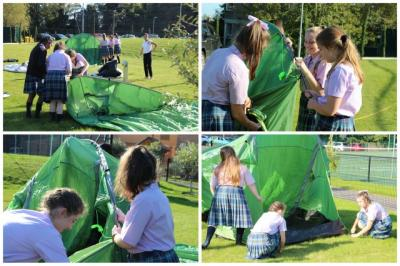 In-Tents Experience for DofE Students