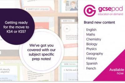 GCSEpod Available Through VLE