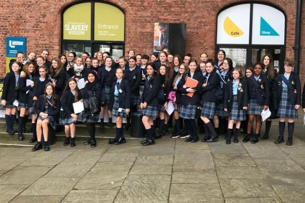 Year 8 Pupils Mark Black History Month