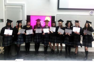 Brilliant Club Students Graduate!