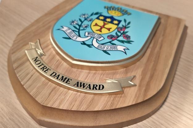 Congratulations to Notre Dame Award Winners