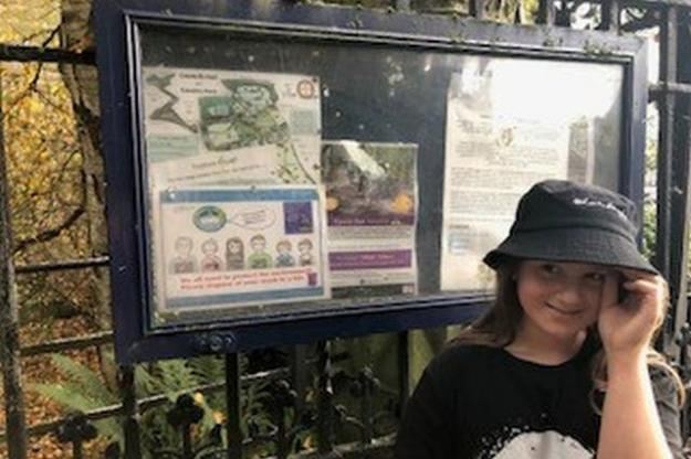 Environmental Campaigner Spearheads Poster Campaign