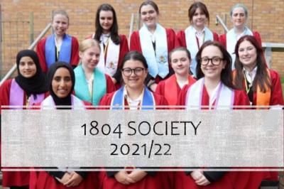 Meet the 1804 Society!