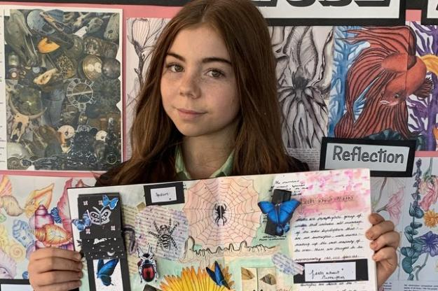 Year 9 Artists Make Flying Start